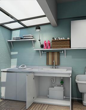 家用污水提升器安装
