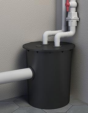 商用污水提升器安装